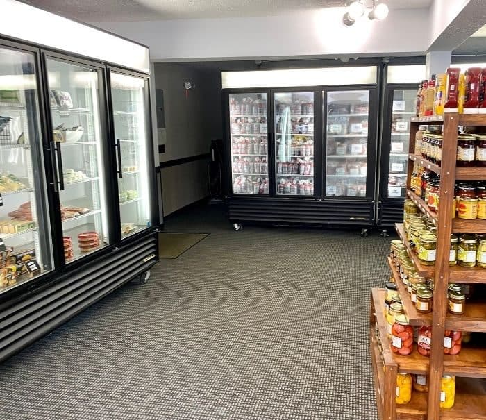 frozen meat at Maplecrest Meats and More