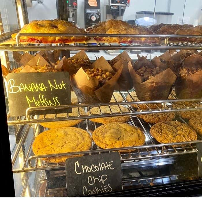 muffins and cookies at The Daily Grind Hillsboro Ohio