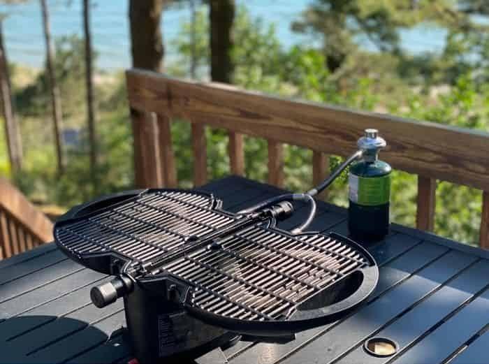 nomadiQ portable grill