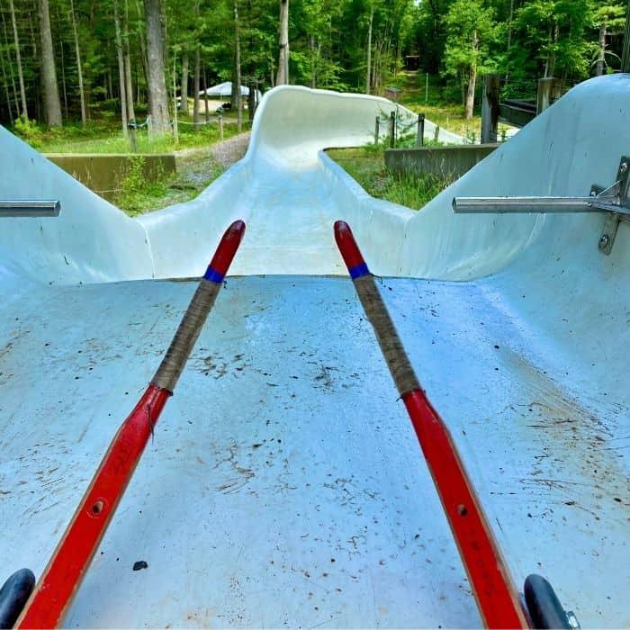 summer wheel luge in Muskegon