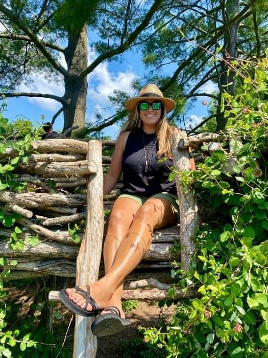 Adventure Mom at Holden Arboretum