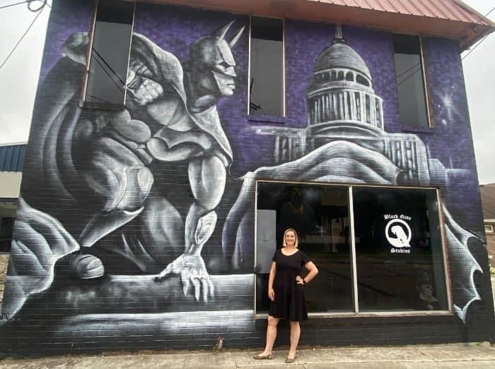 Batman Mural Frankfort KY