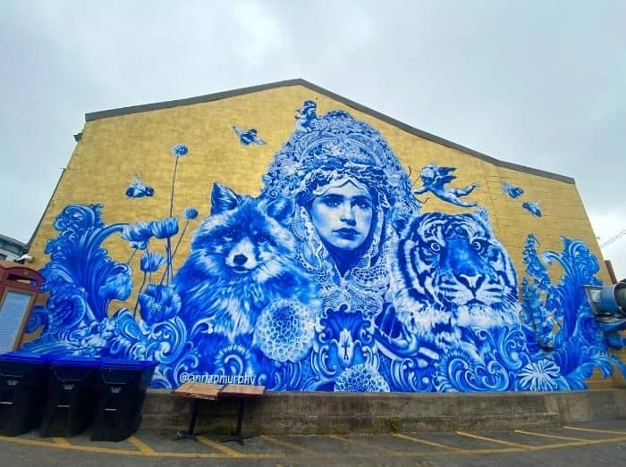 Beautiful and Brave Mural Frankfort KY