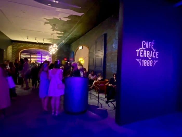 Cafe Terrace 1888 at THE LUME Indianapolis Van Gogh Experience