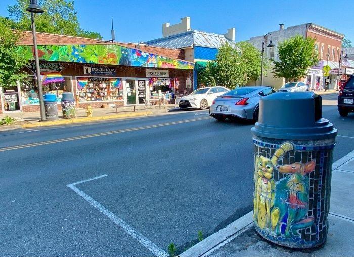 Downtown Yellow Springs Ohio