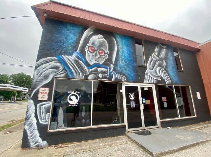 Dr Freeze mural Frankfort
