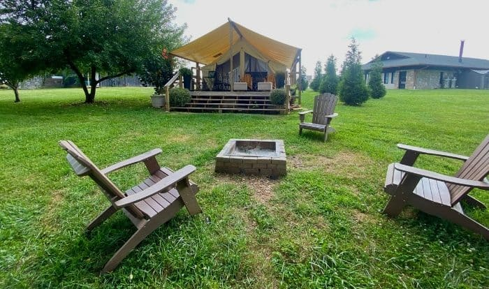 Glamping at The Kentucky Castle