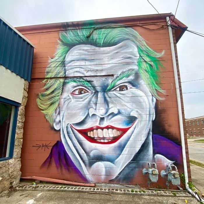 Joker Mural Frankfort KY
