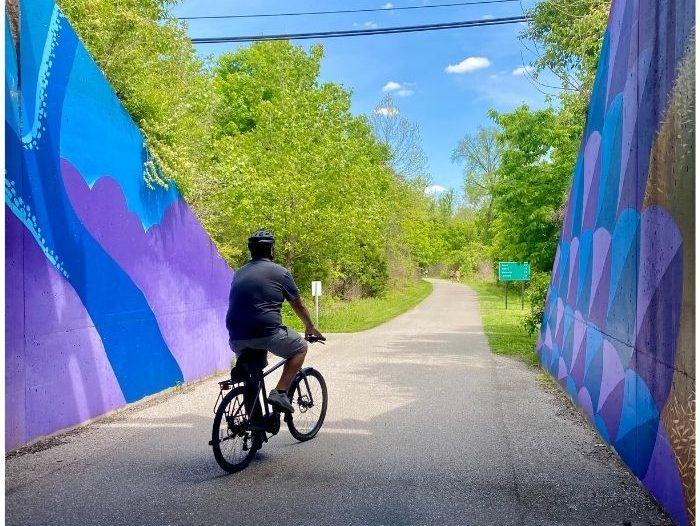 Murals on Little-Miami-Scenic-Trail