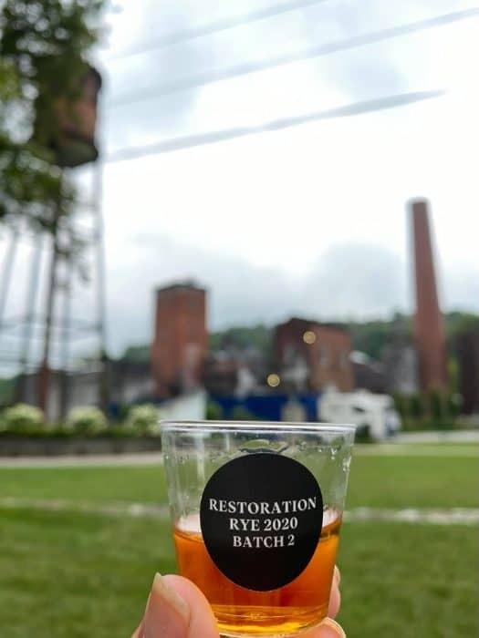 Restoration rye at Castle and Key Distillery