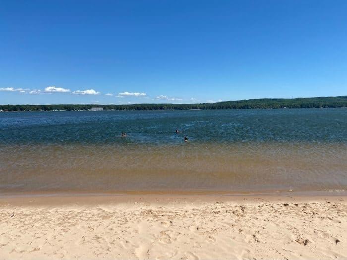 Silver Lake in Michigan