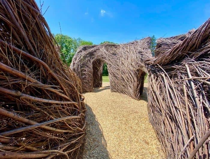 Stickworks at Holden Arboretum