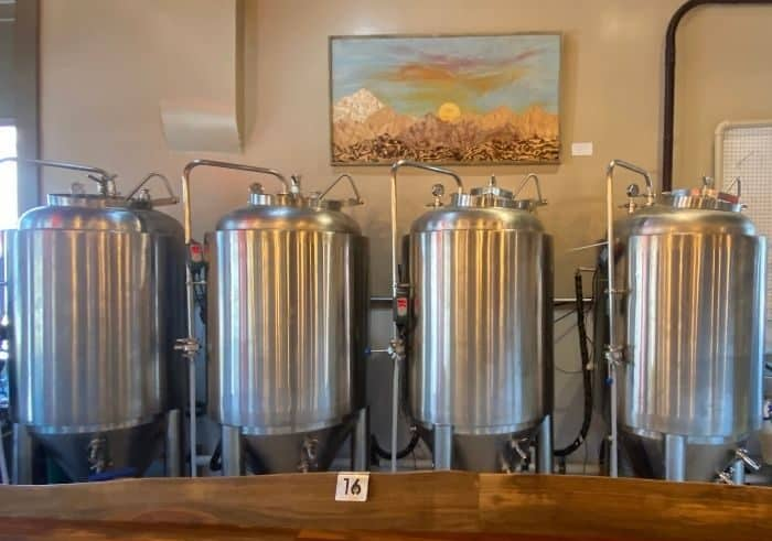 Trail Town Brewing in Yellow Springs Ohio