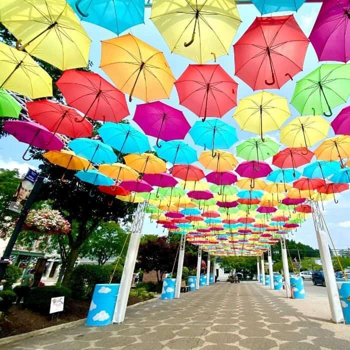 Umbrella Sky Project Batesville Indiana