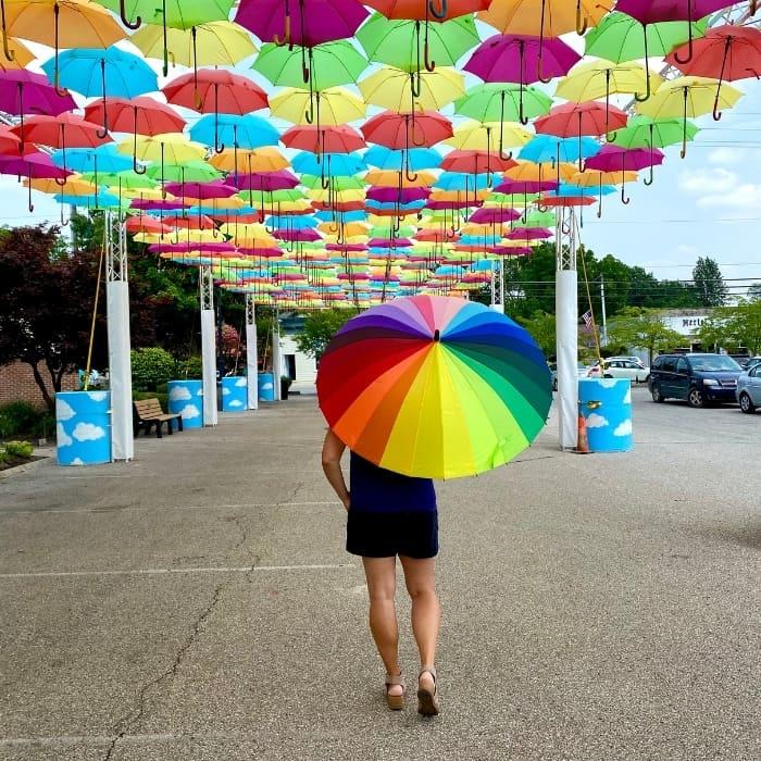 Umbrella Sky Project in Batesville Indiana