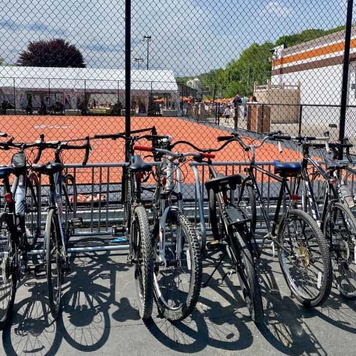bike- racks- 50 West Brewing Company
