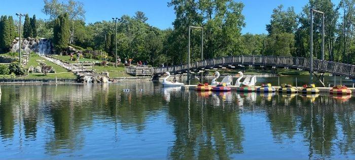 bumper boats at Craig's Cruisers Silver Lake