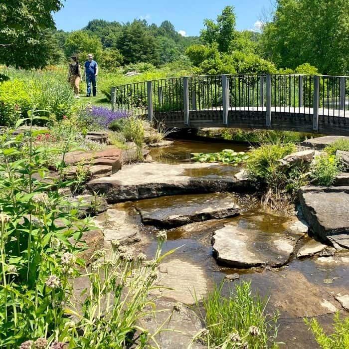 butterfly garden at Holden Arboretum