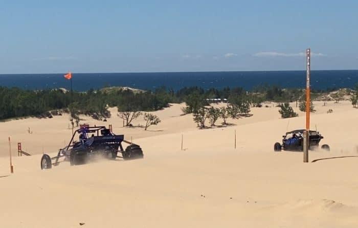 dune buggies on-Silver-Lake-Sand -Dunes