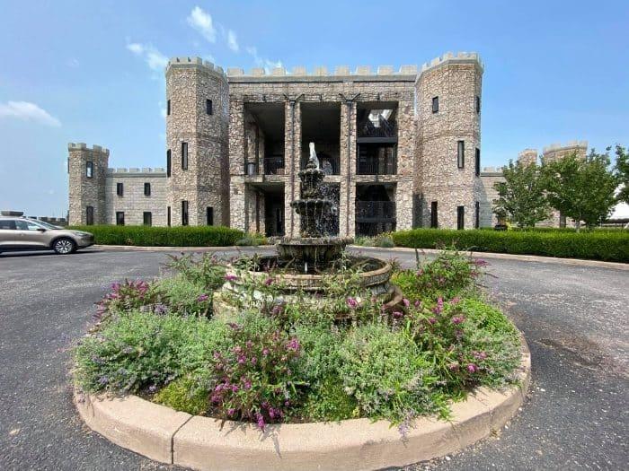 entrance to the Kentucky Castle