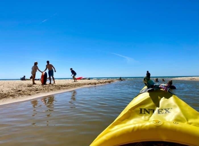 float trip from Stony Lake to Lake Michigan