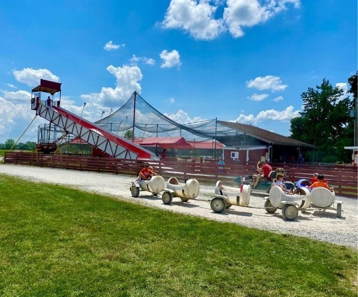 kids activities at Young's Jersey Dairy