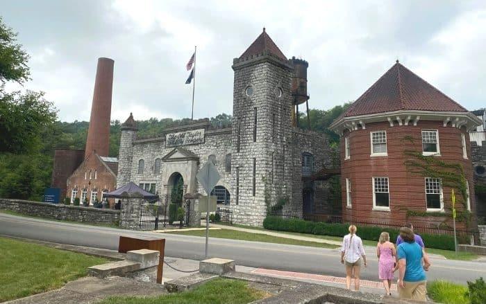 outside Castle and Key Distillery