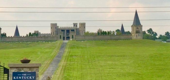 outside The Kentucky Castle