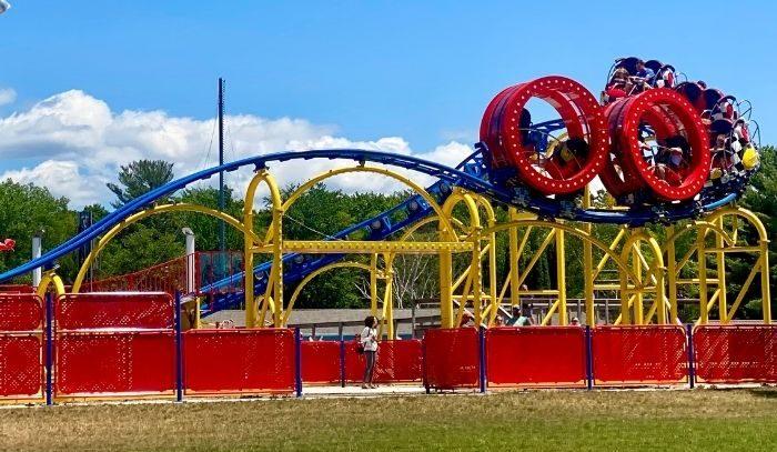 pearly whirly coaster at Craig's Cruisers Silver Lake