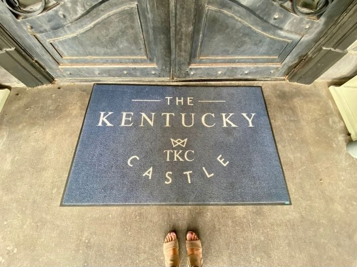 rug at The Kentucky Castle