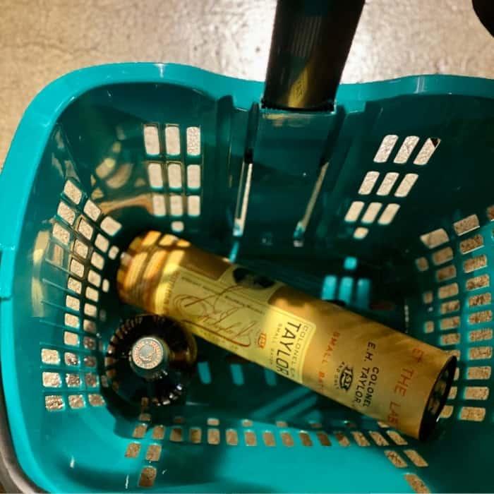 shopping cart Buffalo Trace Distillery