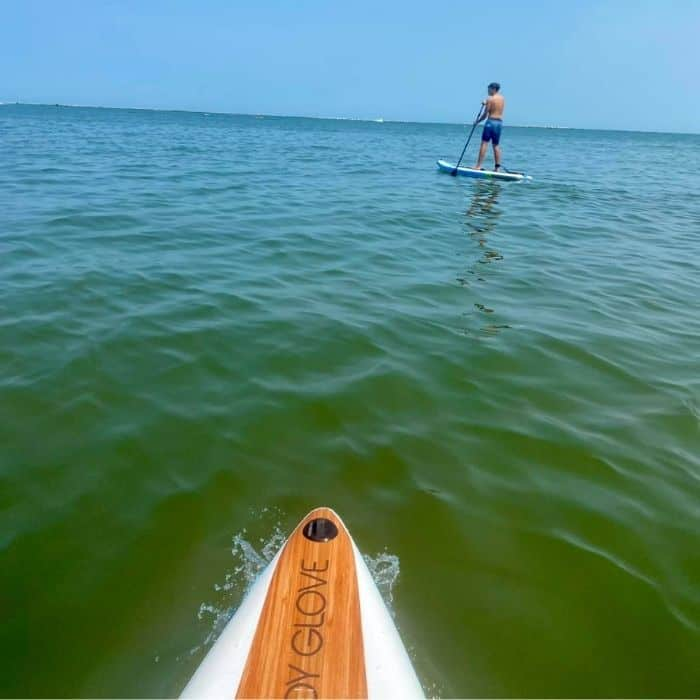 stand up paddleboard Lake Erie