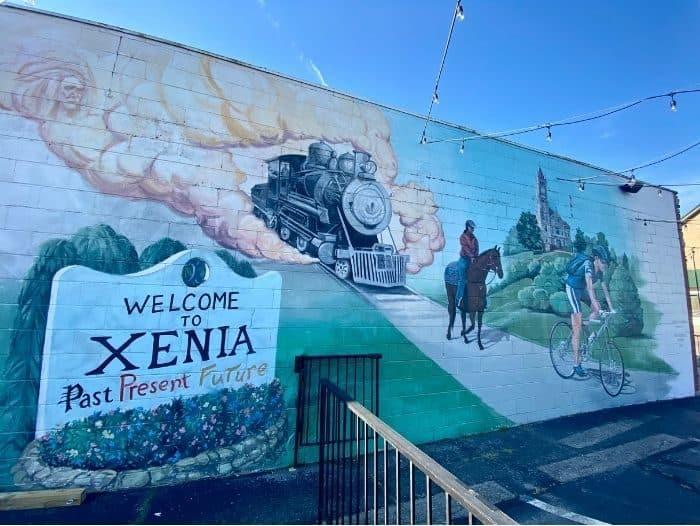 street art in Xenia Ohio