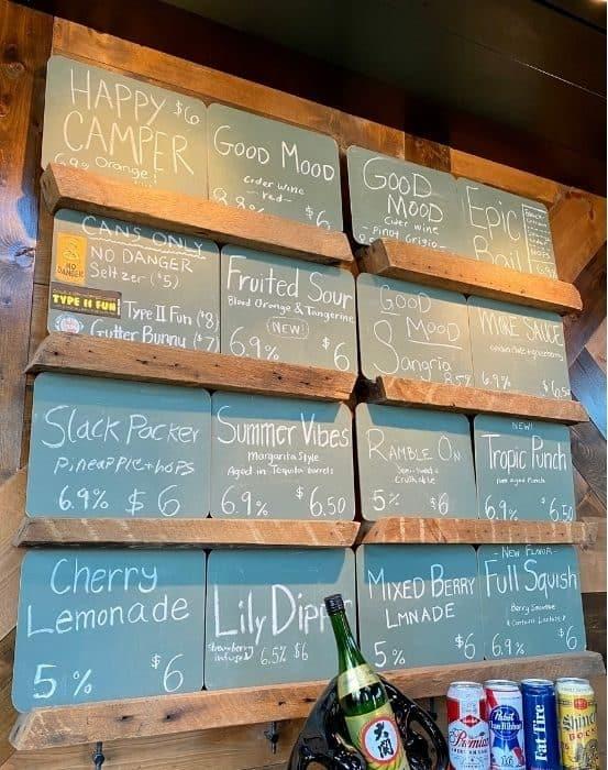 Wild Terra cider bar