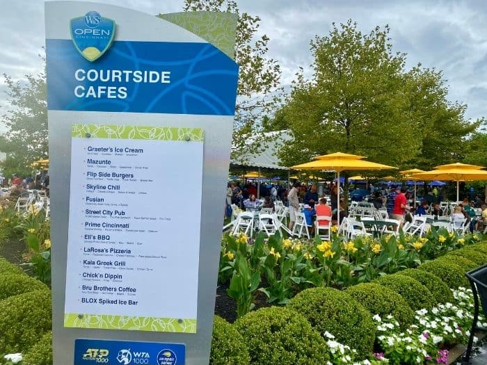 Courtside Cafes at the Linder Family Tennis Center