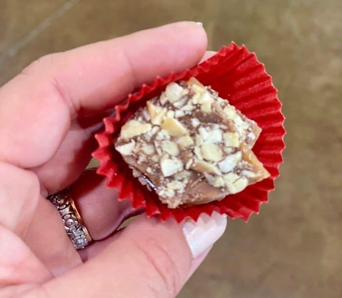 English Toffee at Morgan Price Candy Company
