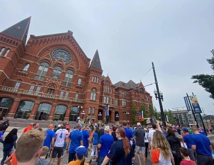 FC Cincinnati Pre-Match Parade at Washington Park