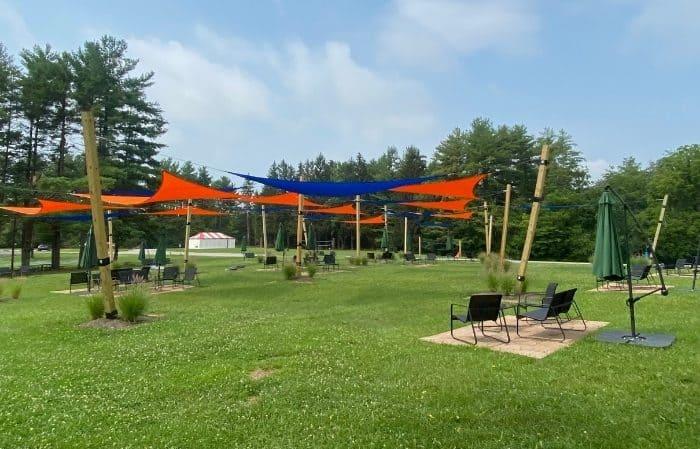 Outdoor Game area Kirkwood Adventure Park