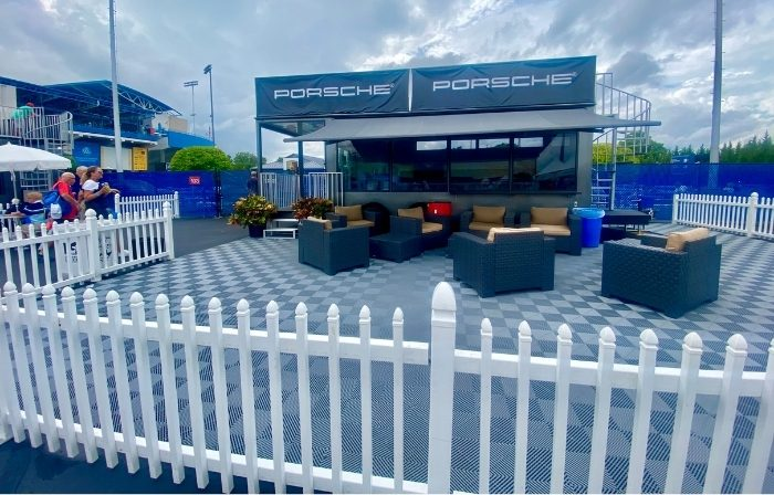 Porsche Sideline Suites at Western and Southern Open