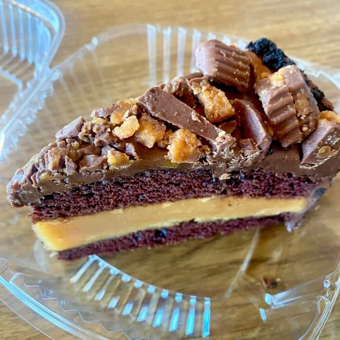 Reese's cake at The Lunchbox Eatery