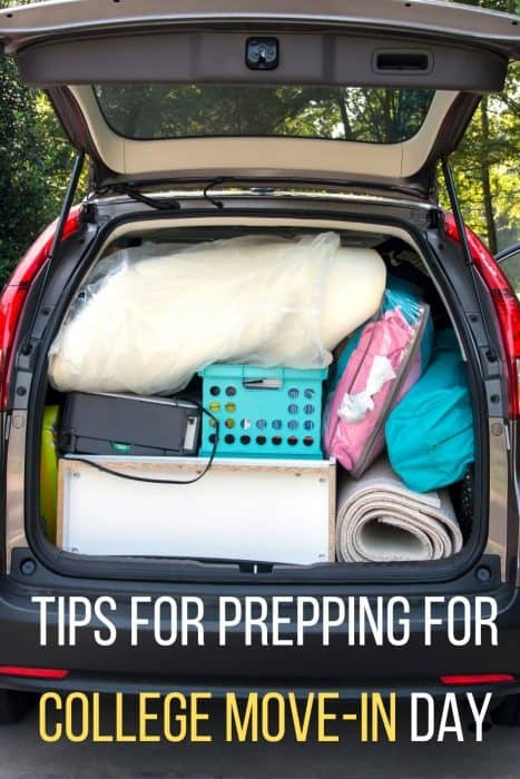Tips for Prepping for College Move-in Day