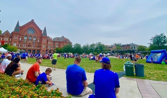 Washington Park in Cincinnati
