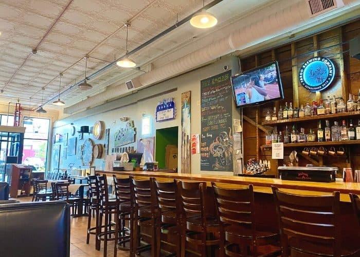 bar at Rhombus Guys