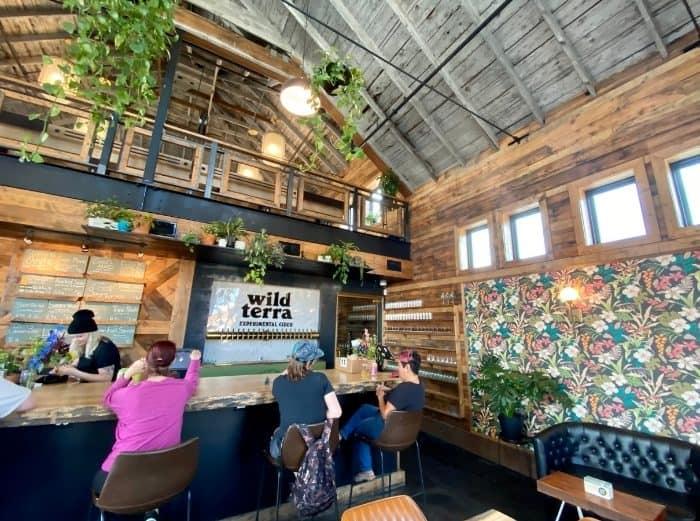 bar at Wild Terra