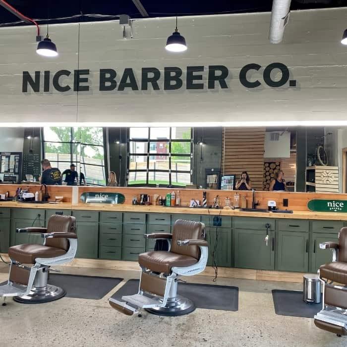 barber shop at Fargo Brewing Company