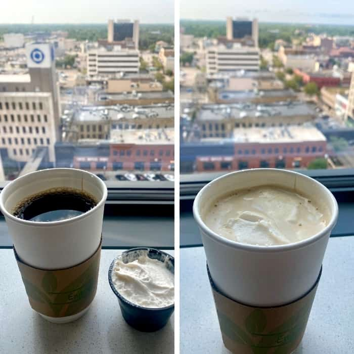 coffee with marshmallow fluff from Wurst Bier Hall