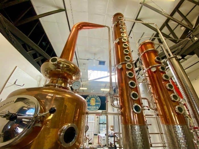 copper still at Proof Artisan Distillers