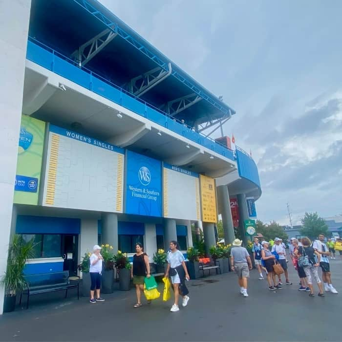 crowd at Western and Southern Open