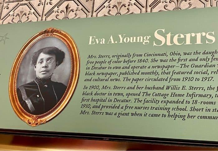 exhibit at Morgan County Archives
