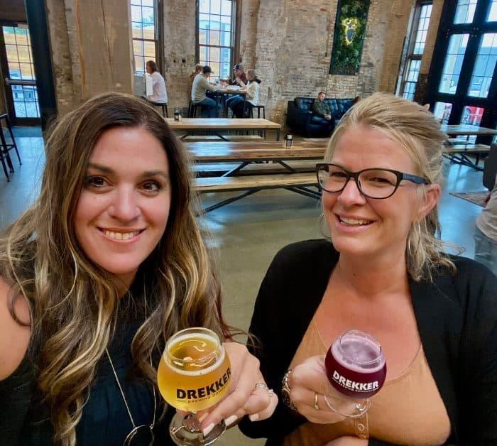 friends at Drekker Brewing Co